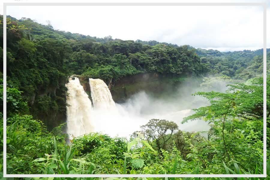 Visitez les chutes d'Ekom