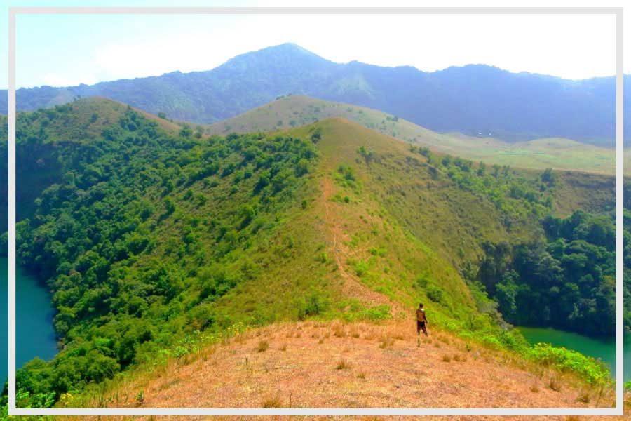 Visitez Manengouba et les lacs jumeaux