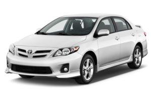 Toyota corolla modèle 2012