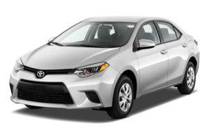 Toyota corolla modèle 2016