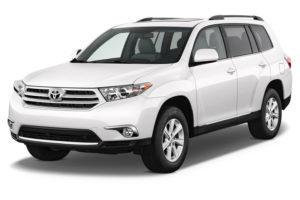 Toyota Highlander modèle 2012